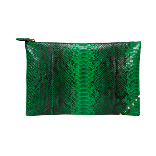[불르아]ZIP CLUTCH_GREEN