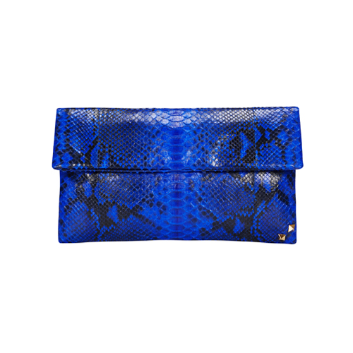 MINI FOLDING CLUTCH_BLUE