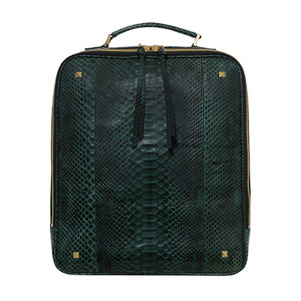 CHANEU BACKPACK_DARK GREEN