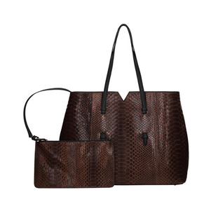 AILIN SHOPPER BAG_BROWN