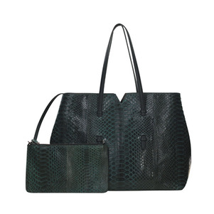 AILIN SHOPPER BAG_GREEN