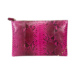 [불르아]ZIP CLUTCH_HOT PINK