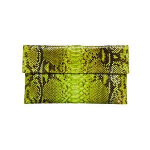 MINI FOLDING CLUTCH_YELLOW GREEN