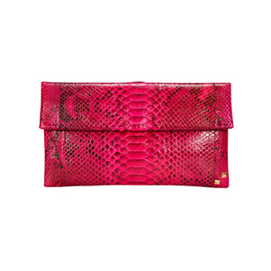 MINI FOLDING CLUTCH_HOT PINK